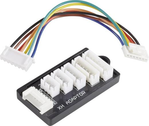 LiPo Balancer Board Ausführung Ladegerät: XH Ausführung Akku: XH Geeignet für Zellen: 2 - 6 VOLTCRAFT