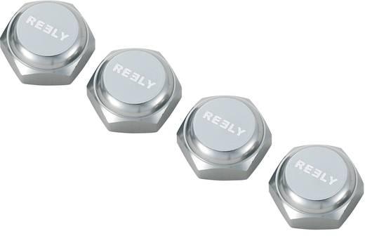 1:8 Radmuttern geschlossen Reely Titanium 4 St.