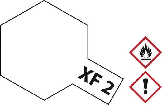 Tamiya 81302 Acrylfarbe Weiß Farbcode: XF-2 Glasbehälter 23 ml
