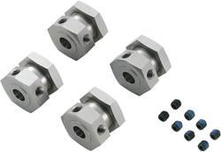 CNC hliníkový unašeč kol Reely, 6-hranný, 4 ks (511492C)