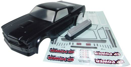 Reely 210114P3E 1:10 Karosserie Mustang Hot Rod Lackiert