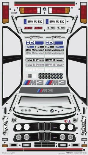 HPI Racing H17540 1:10 Karosserie BMW M3 E30 200 mm Unlackiert, nicht ausgeschnitten