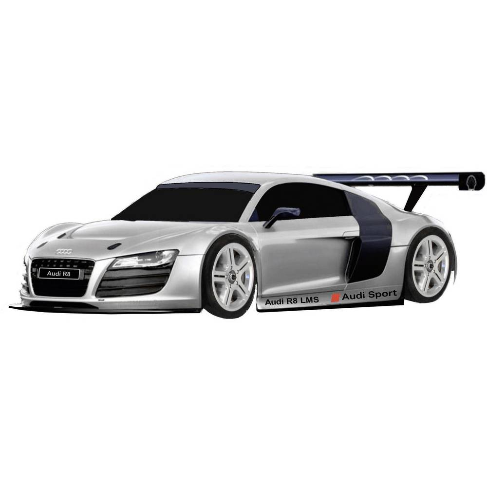 carrosserie audi r8 1 10. Black Bedroom Furniture Sets. Home Design Ideas