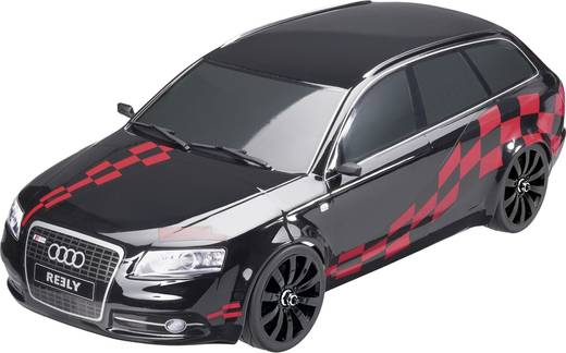 reely stra enmodel audi rs6 brushed 1 10 rc modellauto. Black Bedroom Furniture Sets. Home Design Ideas