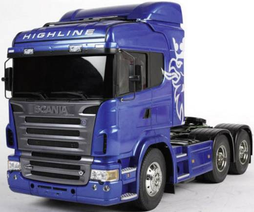 Tamiya 300056327 Scania R620 6x4 (blauw) 1:14 Elektro RC Modell-LKW Bausatz