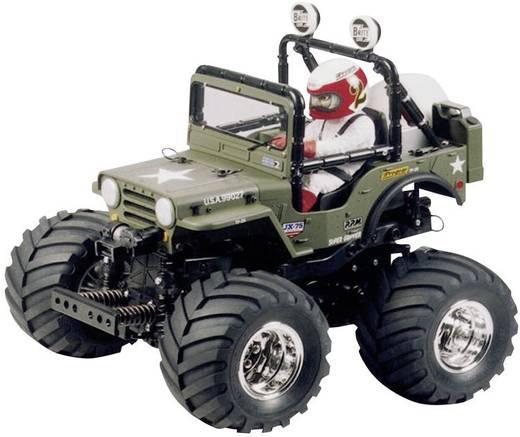Tamiya Wild Willy Brushed 1:10 RC Modellauto Elektro Geländewagen Heckantrieb Bausatz