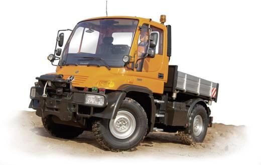 Carson Modellsport Unimog Mercedes Benz U300 Bauhof 1:12 RC Einsteiger Funktionsmodell Baufahrzeug inkl. Akku, Ladegerät und Senderbatterien