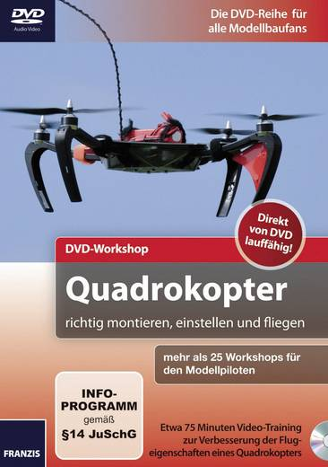DVD-Quadrocopter richtig fliegen