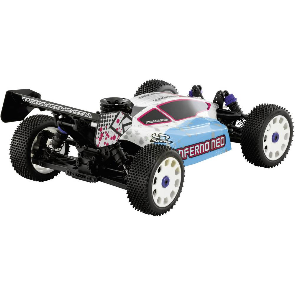 kyosho inferno neo typ 2 1 8 modellauto nitro buggy 4wd. Black Bedroom Furniture Sets. Home Design Ideas