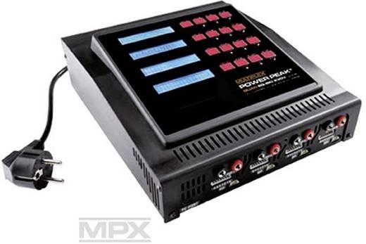 Power Peak (308196) 230 V Ladegerät Quad EQ-BID 230V für Blei, LiFePO, LiIon, LiPo, NiCd, NiMH Akkus,