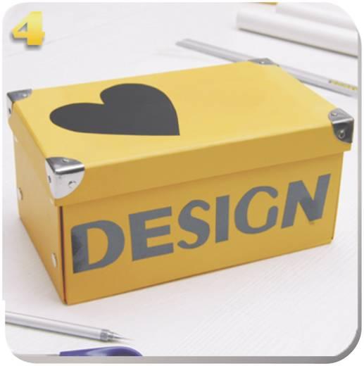 Designfolie Oracover Easyplot 50-097-B (L x B) 300 mm x 208 cm Chrom-Blau