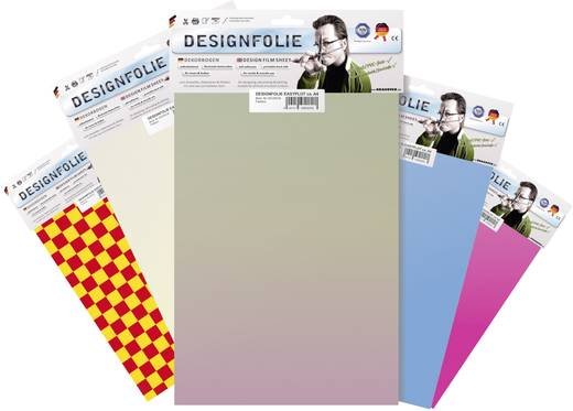 Designfolie Oracover Easyplot 50-065-B (L x B) 300 mm x 208 mm Signal-Orange (fluoreszierend)