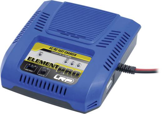 Modellbau-Ladegerät 220 V 4 A LRP Electronic Element Pro LiPo, LiIon, LiFePO, NiMH, NiCd