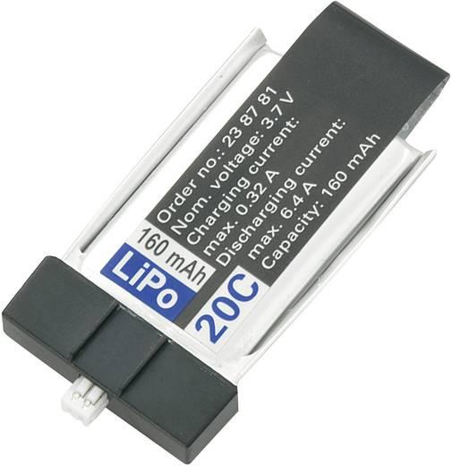 3,7 V Minium LiPo-Flugakku 160 mAh 20 C 1S