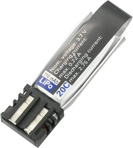Modellbau-Akkupack (LiPo) 3.7 V 110 mAh 20 C Conrad energy LiPolymer