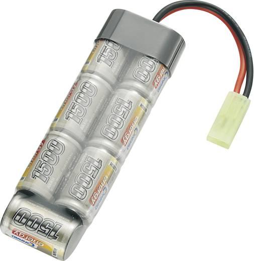 Conrad energy Modellbau-Akkupack (NiMh) 8.4 V 1500 mAh Zellen-Zahl: 7 Stick Mini-Tamiya Stecker