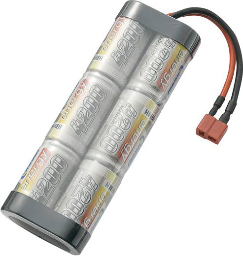 Modellbau-Akkupack (NiMh) 7.2 V 3000 mAh Conrad energy Stick T-Buchse