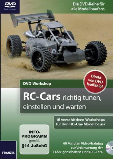 Buch Franzis Verlag DVD-RC-Cars richtig tunen, einstellen und warten