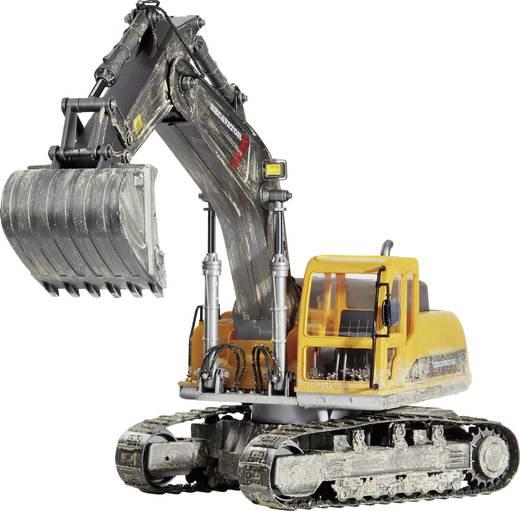 Carson Modellsport Raupenbagger 1:12 RC Einsteiger Funktionsmodell Baufahrzeug inkl. Akku, Ladegerät und Senderbatterien