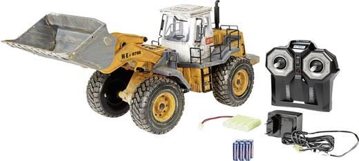 Carson Modellsport Radlader 1:14 RC Einsteiger Funktionsmodell Baufahrzeug inkl. Akku, Ladegerät und Senderbatterien
