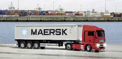 Kontejnerový návěs Tamiya Maersk, 1:14, stavebnice