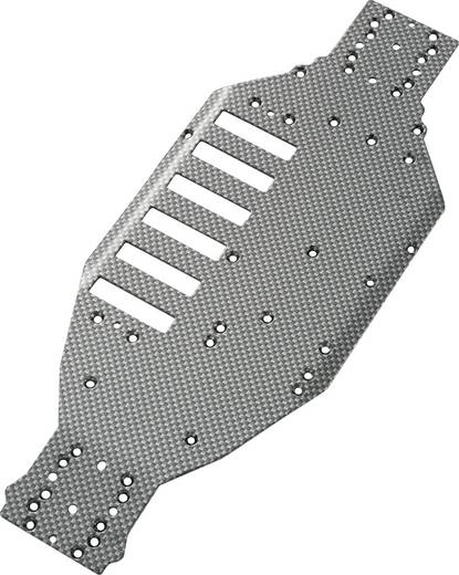 Alu-Chassisplatte EB-04 Carbon Fighter Brushless Carbon-Optik