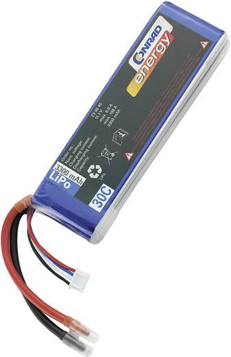 Modellbau-Akkupack (LiPo) 11.1 V 3300 mAh 30 C Conrad energy Stick Offene Kabelenden