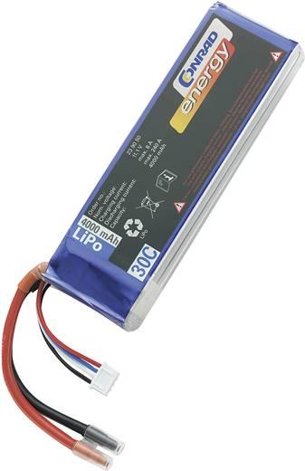 Modellbau-Akkupack (LiPo) 11.1 V 4000 mAh 30 C Conrad energy Stick Offene Kabelenden