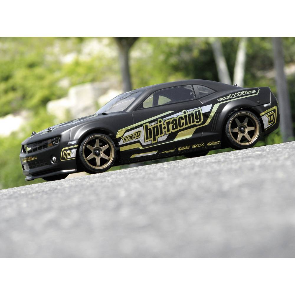 hpi racing h106152 camaro 1 10 mod le r duit de voiture de course 4 roues motrices s sur le site. Black Bedroom Furniture Sets. Home Design Ideas