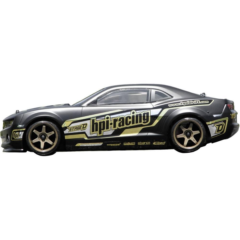 hpi racing h106152 camaro 1 10 mod le r duit de voiture de course 4 roues motrices s sur le site. Black Bedroom Furniture Sets. Home Design Ideas