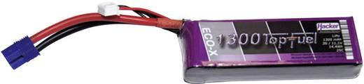 Modellbau-Akkupack (LiPo) 11.1 V 1300 mAh Zellen-Zahl: 3 25 C Hacker EC3
