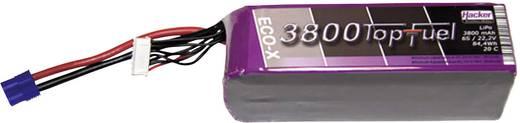Modellbau-Akkupack (LiPo) 22.2 V 3800 mAh 20 C Hacker EC3