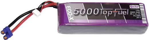 Hacker Modellbau-Akkupack (LiPo) 11.1 V 5000 mAh Zellen-Zahl: 3 20 C Stick EC5