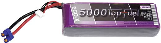 Modellbau-Akkupack (LiPo) 11.1 V 5000 mAh Zellen-Zahl: 3 20 C Hacker EC5