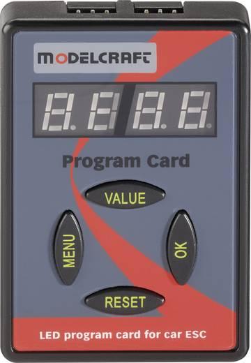 Modelcraft Programmierkarte Passend für: Brushless-Fahrtenregler 1:10