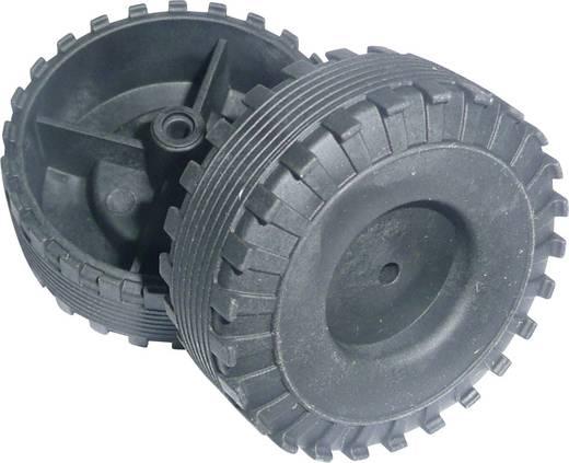 Werklehrmittel Kunststoff-Hohlreifen Modelcraft (Ø) 44 mm Bohrungs-Ø 2.6 mm