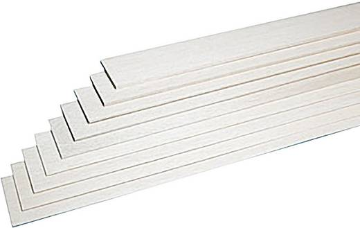 Graupner Balsa-Brettchen 1 x 1000 x 100 (10) (L x B x H) 1000 x 100 x 1.0 mm