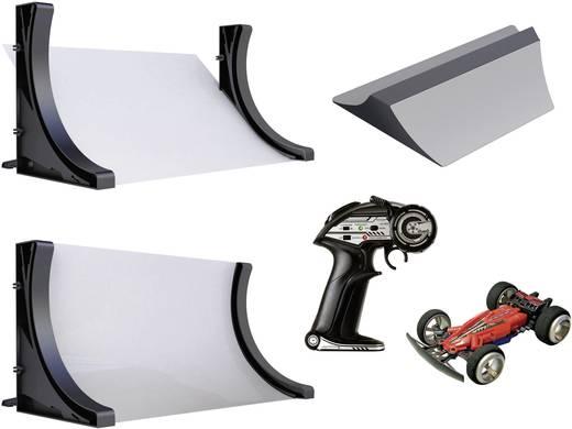 Silverlit 3D Twister Racz Fahrzeug und Rampen Set RtR