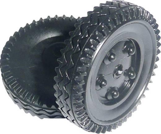 Werklehrmittel Kunststoff-Hohlreifen Modelcraft (Ø) 24 mm Bohrungs-Ø 1.6 mm