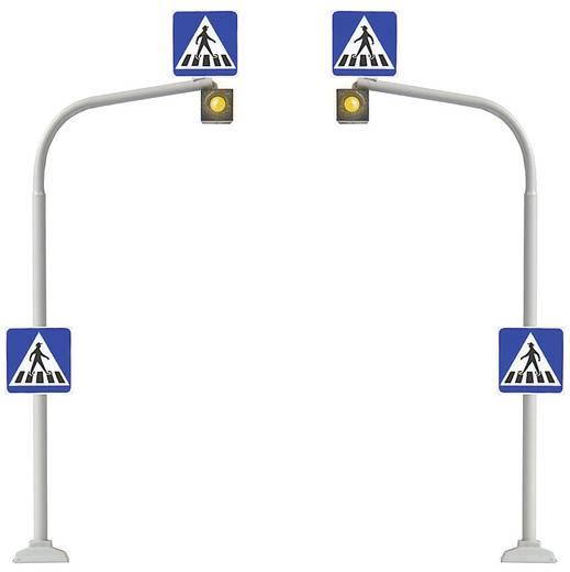 H0 2er Set Fußgängerampeln inkl. Zebrastreifen zum Aufreiben Busch 5916 Bausatz