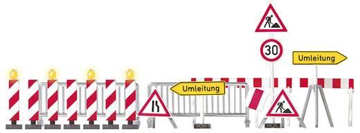 H0 7er Set Warnbalken Busch 5937 Bausatz