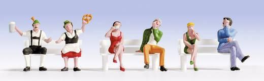 NOCH 15536 H0 Figuren Sitzende