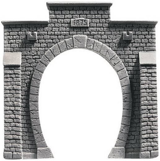 H0 Tunnel-Portal PROFI plus 1gleisig Hartschaum-Fertigmodell, Unbemalt NOCH 58041