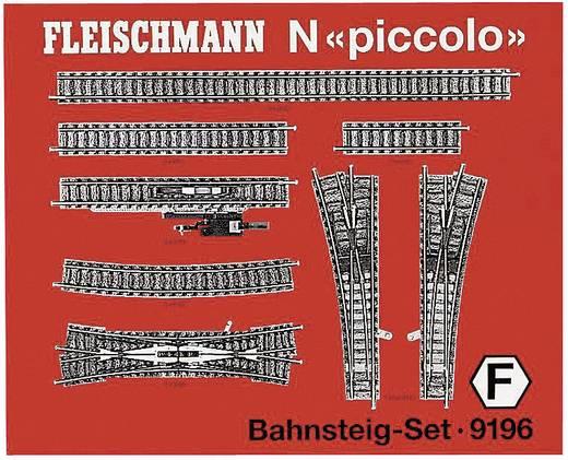 N Fleischmann piccolo (mit Bettung) 9196 Ergänzungs-Set