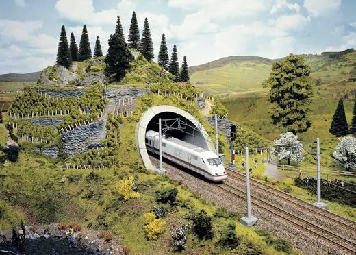 H0 Tunnel-Portal PROFI plus 2gleisig Hartschaum-Fertigmodell, Bemalt NOCH 58040