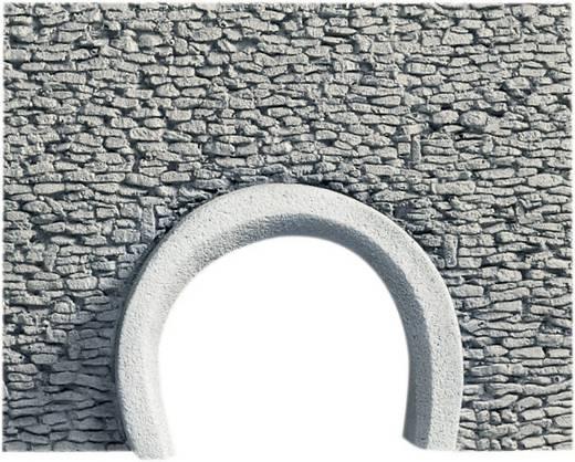 H0 Straßen-Portal 2gleisig Hartschaum-Fertigmodell, Unbemalt NOCH 58299