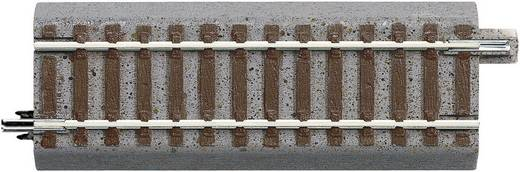 H0 Roco geoLINE (mit Bettung) 61120 Übergangsgleis, gerade 100 mm