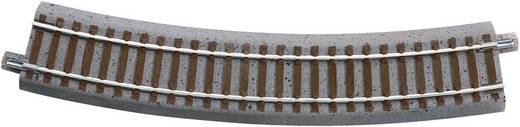 H0 Roco geoLINE (mit Bettung) 61122 Gebogenes Gleis 30 ° 358 mm