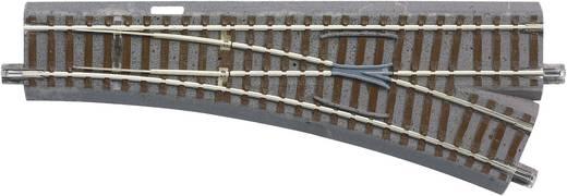 H0 Roco geoLINE (mit Bettung) 61141 Weiche, rechts 200 mm