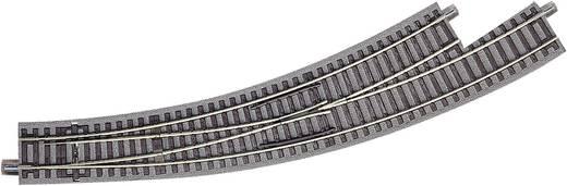 H0 Roco geoLINE (mit Bettung) 61154 Bogenweiche, links 30 ° 434.5 mm